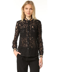 Baseball lace blouse medium 1250974