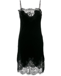 Gold Hawk Lace Trimmed Camisole Dress