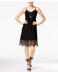 Shift Juniors Lace Trim Slip Dress Created For Macys