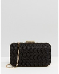Lipsy Black Lace Clutch Bag