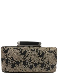 Sondra Roberts Black Lace Clutch