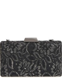 Chantilly lace box clutch metallic medium 806784