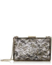 Love Moschino Lace Plexy Evening Bag