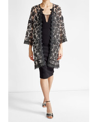 Anna Sui Lace Appliqu Coat