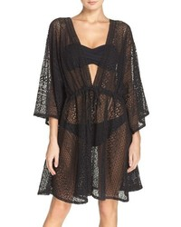 Hinge Lace Beach Cover Up