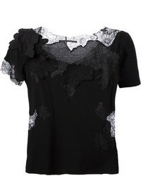 Ermanno Scervino Lace Panel T Shirt