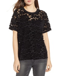 7 For All Mankind Lace Top