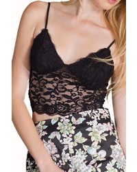 Flying Tomato Lace Cropped Cami