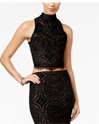 Material Girl Juniors Lace Detail Crop Top Only At Macys