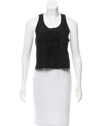 Rachel Comey Lace Accented Crop Top