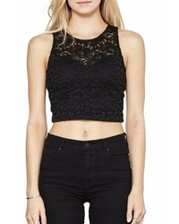 Mai Tai Crop Lace Top