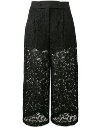 Valentino Guipure Lace Culottes