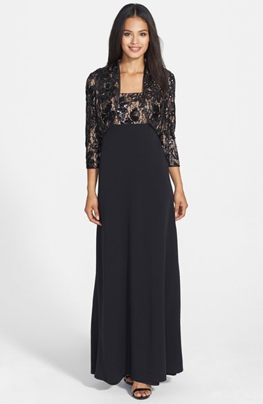 Lace Empire Waist