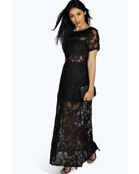 84cfd495ba2c Boohoo Boutique Khloe All Over Lace Bandeau Maxi Dress Out of stock · Boohoo  Boutique Arabella Open Back Lace Maxi Dress