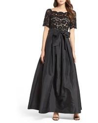 Lace taffeta ballgown medium 1195694