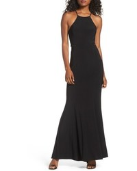 Xscape Evenings Xscape Lace Jersey Mermaid Gown