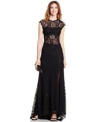 Womens Black Lace Evening Dresses From Macys Womens Fashion