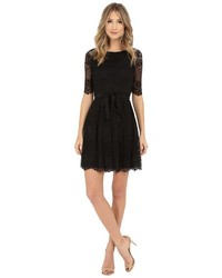 Jessica Simpson 34 Novelity Lace Dress With Self Sash