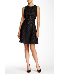 Andrew Marc Marc New York Sleeveless Lace Skater Dress