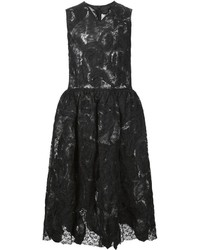 Comme des Garcons Comme Des Garons Comme Des Garons Lace Flared Dress