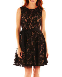 jcpenney Dj Jaz Dj Jaz Sleeveless Lace Fit And Flare Dress