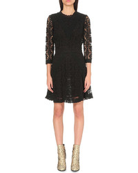 Maje Renita Floral Lace Dress