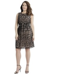 Adrianna Papell Romantic Lace Dress