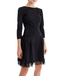 J.Crew Tulle Hem Sheath Dress