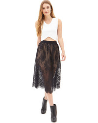 Forever 21 Victorian Lace Skirt
