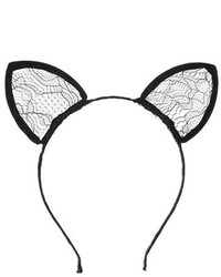 Topshop Lace Cat Ear Headband
