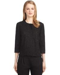 Lace three quarter sleeve jacket medium 155257