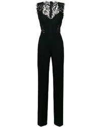Ermanno Scervino Lace Trim Jumpsuit