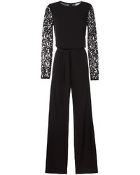 MICHAEL Michael Kors Michl Michl Kors Lace Panel Sleeve Jumpsuit