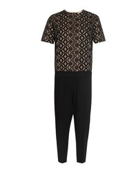 No.21 No 21 Broderie Anglaise And Lace Jumpsuit