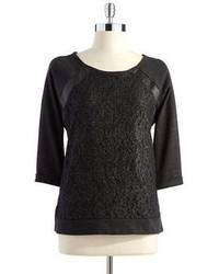 Jessica Simpson Three Quartered Sleeved Shirt