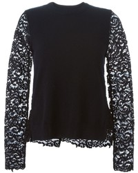 Tory Burch Lace Long Sleeves Top