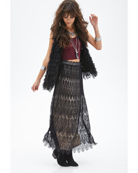 6012d6cd6 Women's Black Maxi Skirts by Forever 21   Women's Fashion ...