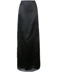 Lace insert maxi skirt medium 4414365