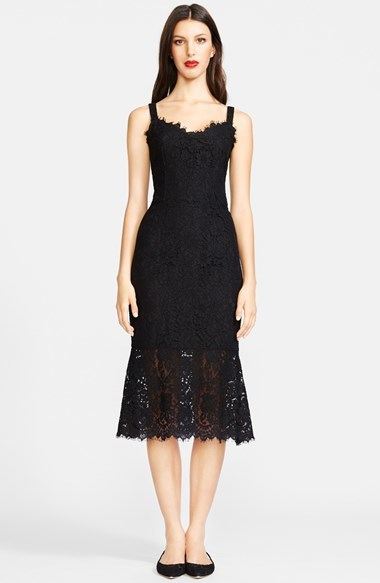 3aea3cd80cc ... Black Lace Midi Dresses Dolce   Gabbana Dolcegabbana Lace Tank Midi  Dress ...