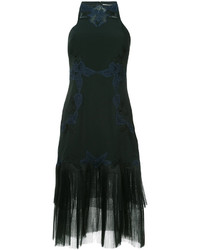 JONATHAN SIMKHAI Lace Detail Midi Dress