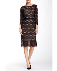 Andrew Marc Marc New York 34 Lace Midi Sheath Dress