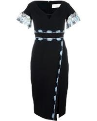 Peter Pilotto Cady Lace Band Midi Dress