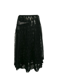 Embroidered lace skirt medium 7976020