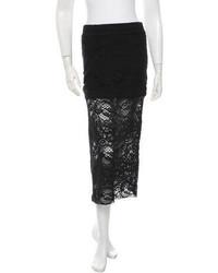 IRO Lace Midi Skirt