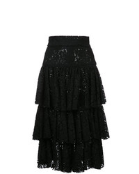 Bambah Layered Midi Skirt