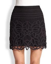 Rag and Bone Rag Bone Nancy Battenburg Lace Mini Skirt