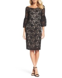 Adrianna Papell Juliet Lace Off The Shoulder Dress