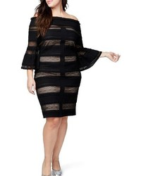 Rachel lace off the shoulder dress medium 4344426