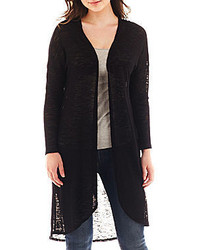jcpenney By And By By By Long Sleeve Lace Back Cardigan | Where to ...