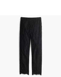 J.Crew Petite Easy Pant In Lace
